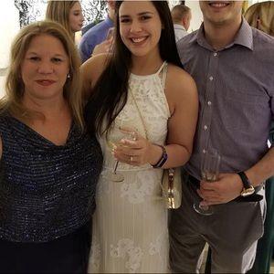 Chelsea & Violet White Lace Dress